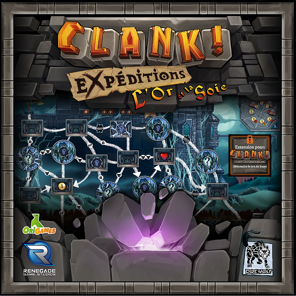 CLANK ! - Ext. Expeditions L'Or et La Soie